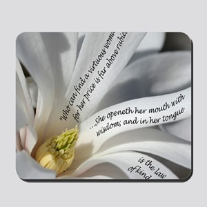 Proverbs 31 Wisdom Mousepad