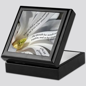 Proverbs 31 Wisdom Keepsake Box