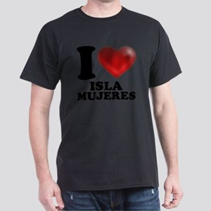 I Heart Isla Mujeres Dark T-Shirt