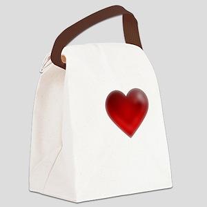 I Heart Grand Bahama Island Canvas Lunch Bag