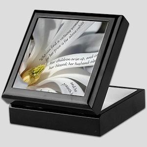 Proverbs 31 Mother Keepsake Box