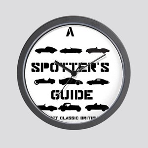 Spotter's Guide to Select Classic Briti Wall Clock