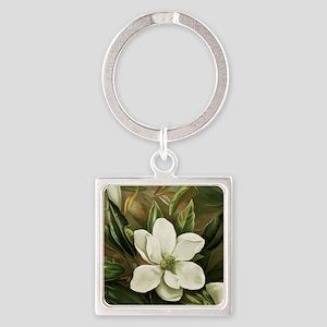 Magnolia Square Keychain