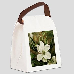 Magnolia Canvas Lunch Bag