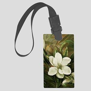 Magnolia Large Luggage Tag