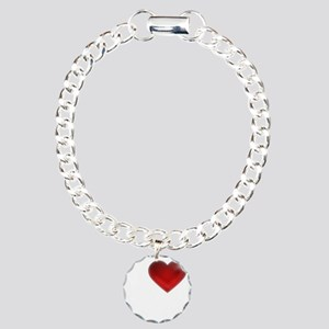 I Heart Guemes Island Charm Bracelet, One Charm