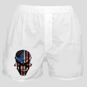 flag_skull_dark_Flag_Large Boxer Shorts