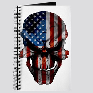 flag_skull_dark_Flag_Large Journal