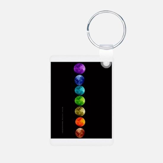 Chakra Moons Keychains