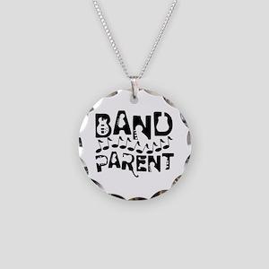 Band Parent Music Notes Necklace