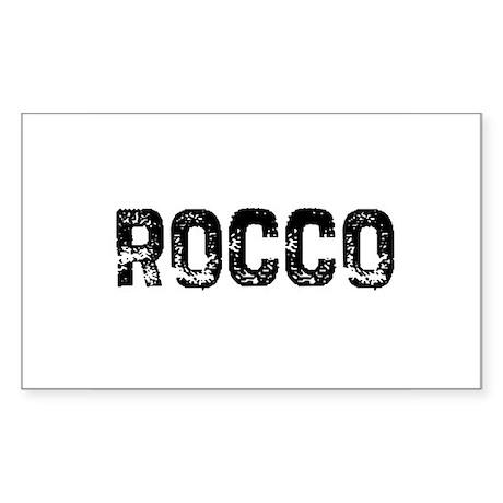 Rocco Rectangle Sticker