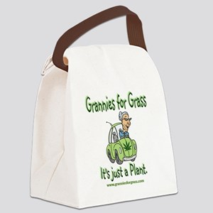 official logo cafe Canvas Lunch Bag