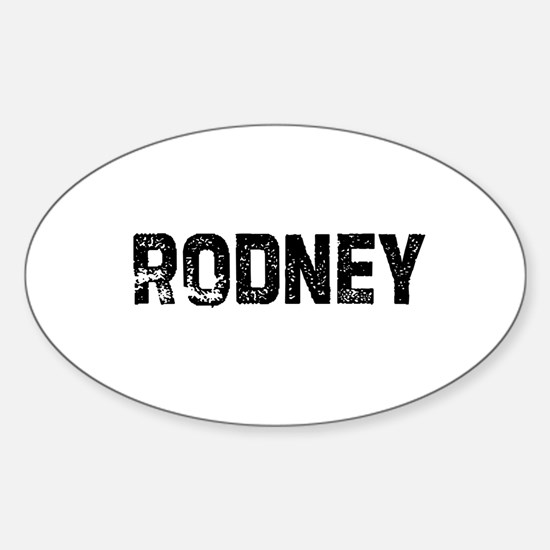 Rodney Oval Decal