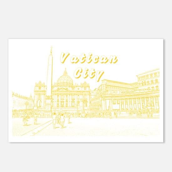 VaticanCity_17.2X11.5_Sai Postcards (Package of 8)