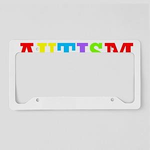 Autism awarness License Plate Holder
