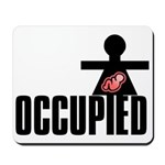 Occupied Mousepad