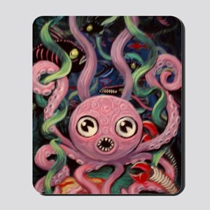 Hungry Octopus Mousepad