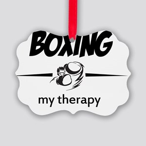 Boxing sports vector design Picture Ornament