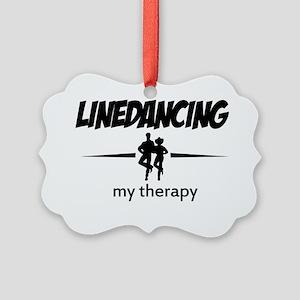 Line dancing vector designs Picture Ornament