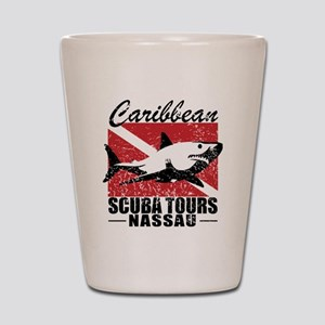 Caribbean Scuba Tours Shot Glass