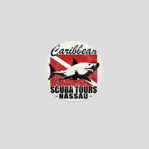 Caribbean Scuba Tours Mini Button