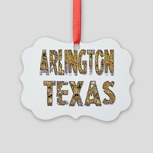 Arlington Texas 1 Picture Ornament