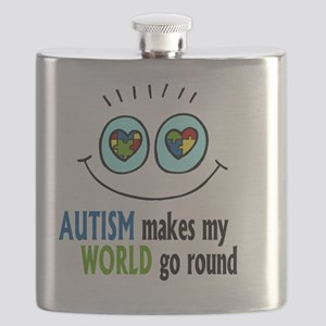 Autism makes my World go round Flask