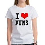 I love puns Women's T-Shirt