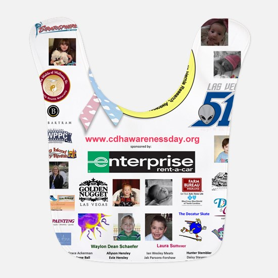 CDH Awareness Day Bib