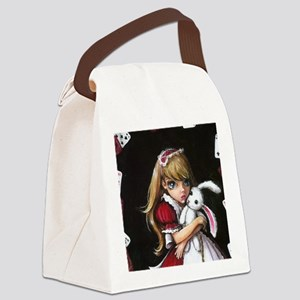 Just a Pack of Cards Canvas Lunch Bag