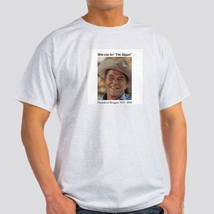 Win One For The Gipper Ash Grey T-Shirt