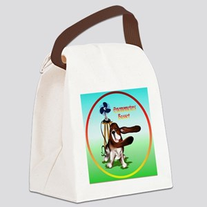 Basset Anemometers Canvas Lunch Bag