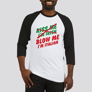 Don't Kiss Me Baseball Jersey