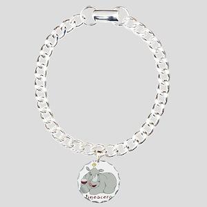 Winoceros Charm Bracelet, One Charm