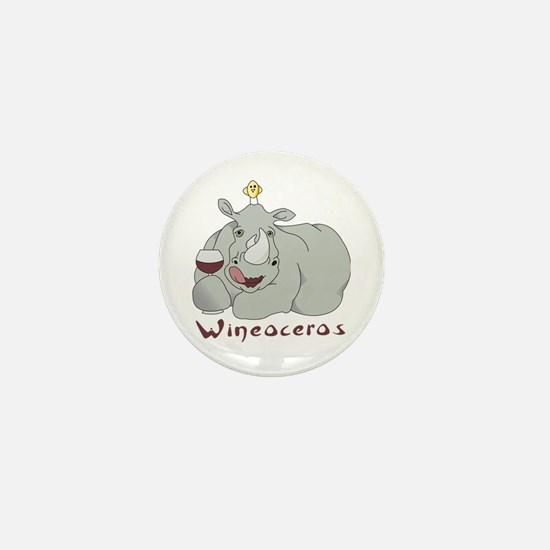 Winoceros Mini Button