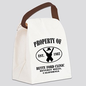 Property of Betty Ford Clinic Canvas Lunch Bag