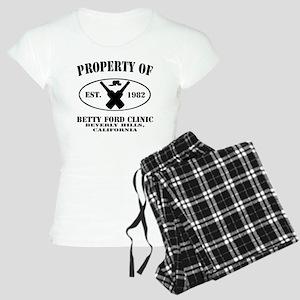 Property of Betty Ford Clin Women's Light Pajamas