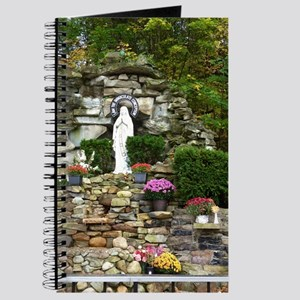 Our Lady of Lourdes Shrine in the Fall Journal