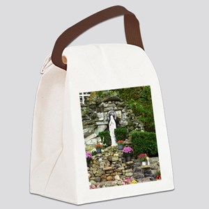 Our Lady of Lourdes Shrine in the Canvas Lunch Bag