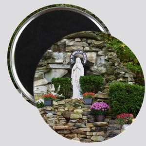 Our Lady of Lourdes Shrine in the Fall Magnet