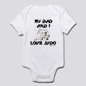 MY DAD AND I LOVE JUDO Infant Bodysuit
