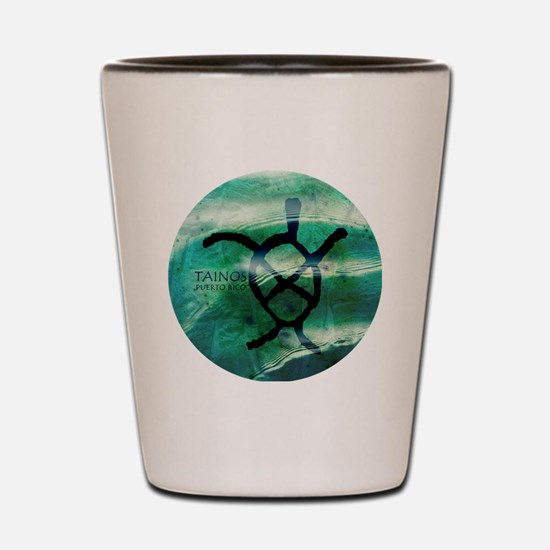 Taino Turtle Symbol Shot Glass