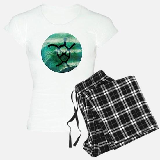 Taino Turtle Symbol Pajamas