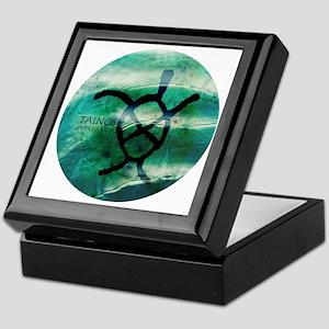 Taino Turtle Symbol Keepsake Box