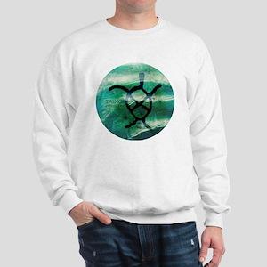 Taino Turtle Symbol Sweatshirt