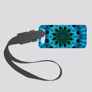 Blue Energy Small Luggage Tag