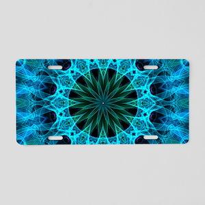 Blue Energy Aluminum License Plate