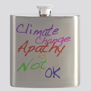 Climate Change Apathy is Not OK Flask
