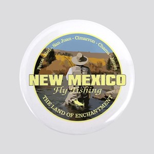 "New Mexico Fly Fishing 3.5"" Button"