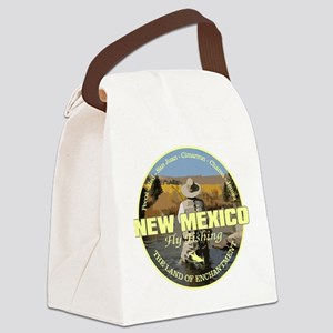New Mexico Fly Fishing Canvas Lunch Bag